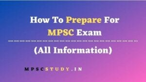 How To Prepare For MPSC Exam